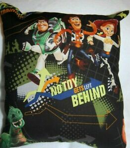 NEW HANDMADE DISNEY TOY STORY CHARACTERS NO TOY GETS LEFT BEHIND  PILLOW