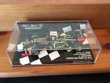 MINICHAMPS 1/43 F1 TEAM LOTUS RENAULT E20 K. RAIKKONEN WINNER ABU DHABI GP 2012