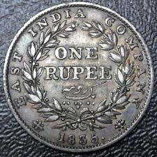 1835 (c) INDIA-BRITISH - ONE RUPEE - .917 SILVER - William IV - Nice HIGH GRADE