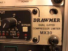 Drawmer MX 30 Compresssor Limiter Gate Rack mount