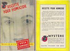C1 Owen CAMERON Recette pour Homicide 1955 UN MYSTERE # 238 The Butcher s Wife