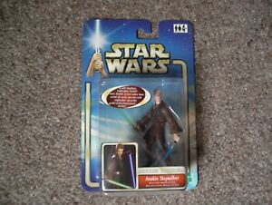 Star Wars Attack of The Clones Anakin Skywalker Figure age4+ 2002 Hasbro duellin