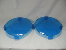 AFTERMARKET BLUE COVERS  TO SUIT LIGHTFORCE 210 GENESIS DRIVING LIGHTS **NEW**