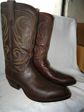Extremely Nice Vintage WRANGLER W.B. Masterson Special Edition Cowboy boots 10.5