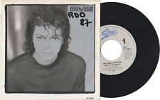 "Michael Jackson MAN IN THE MIRROR Disque 45t 7"" Vinyl Single Record Disc 1988"