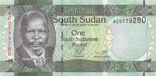 Sudan South 1 Pound 2011 Unc pn 5