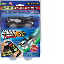 Magic Tracks LED Light-Up POLICE CAR - Remote Control RC Race Glow Vehicle Toy