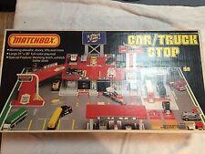 SEALED Vintage 1982 Matchbox Lesney Car/Truck Stop Playset - NOS Factory Sealed