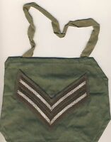 BRITISH ARMY SURPLUS CORPORAL OLIVE GREEN COTTON RANK SHOULDER BRASSARD,CPL