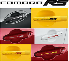 Camaro RS X 8 Pieces Door Handle Wheels Decal Sticker Graphics Emblem Logo I