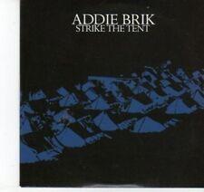 (DJ550) Addie Brik, Strike the Tent - 2009 DJ CD