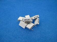 (10) Radial Metal Film Capacitors: 0.0047 uF (4700 pF) 5% 630V (Tube Amps, etc)
