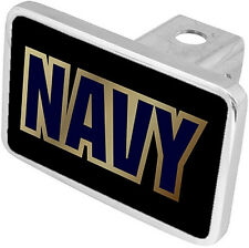 New NAVY Military Hitch Cover Plug