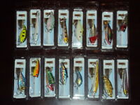 Lot of 16 New In the Box Bass Trout Walleye Crankbait Fishing Tackle Lures 16-1