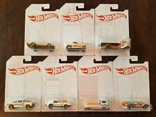 Hot Wheels 2020 52nd Anniversary Pearl & Chrome Complete Set w/CHASE* (Lot of 7)