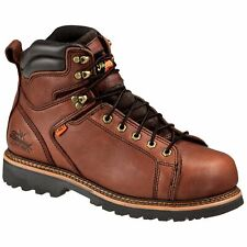 """Thorogood Men's 6"""" Lace-To-Toe I-Met Boots,Brown,10 W"""