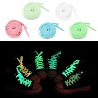 Men Women Fluorescence Athletic Shoelace Shoe Strings Laces Glow In The Dark