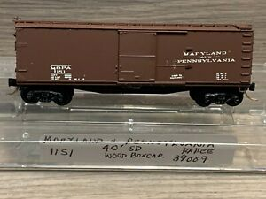 N Scale Kadee Maryland & Pennsylvania #1151 40' Standard Box Car 39009 M&PA