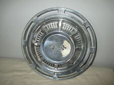 Vintage 1959-1966 GM Chevy Impala Corvette Double Flags Chevrolet Hubcap 14""