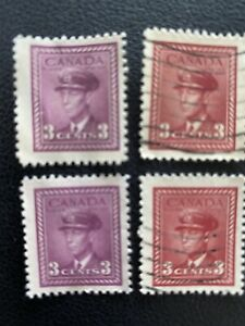 Canada Canadian War Stamps #280 George VI