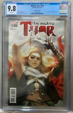 MIGHTY THOR #705 CGC 9.8 ARTGERM Lau variant Death of Jane Foster *NO RESERVE*