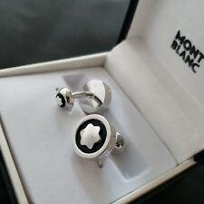 Montblanc Cufflinks - Silver / Black
