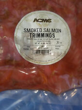 Restaurant Quality NATURAL HARDWOOD SMOKED SALMON  TRIMMINGS 4 lbs (64 oz) Bag