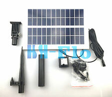 5W 400Lph Brushless Solar Motor Power Garden Fountain Pond Pool Water Fish Pump