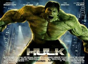 """The Incredible Hulk ( 11"""" x 17"""" ) Movie Collector's Poster Print -  B2G1F"""