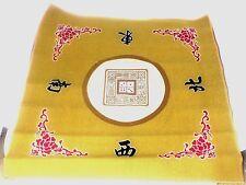 Mah jong Mat Paigow Card Game Table Cover Mah jongg Gold