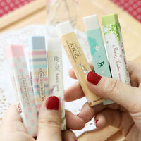Elegant Long Cleansing Drawing Painting Rubber Eraser Stationary Gift QA