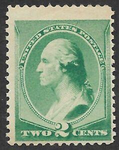 Mr B's US Stamp 1883 #213 MNH OG Washington - 2 Cents - CV $180 - FREE SHIPPING!