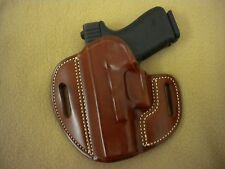 For GLOCK 19/23/32 CUSTOM LEATHER GUN HOLSTER L/H Made In U.S.A. BY JW O`ROURKE