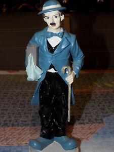 Alte Charlie Chaplin Figur ca. 24 cm.