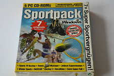 Sportpack 2002 (pc) article neuf rare