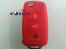 Silicone Key Remote Case Cover VW Golf Polo Boro Beetle Touran MK4 MK5 MK7 GTI