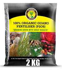 4 X 1kg Super Grow Organic Guano Fertilizer Granular Makes 200 Litres Liquid