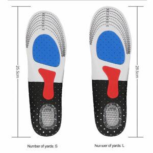 Shoes Pads 1Paar Weiche Laufschuhpolster Silikon-Gel-Waben-Massage-Einlegesohlen
