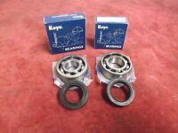 Yamaha DT175 MX '78-'84 Koyo Crank bearings & R23 double lipped seal kit
