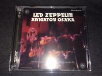 Led Zeppelin Arigatou Osaka Winston Remaster CD 3 Discs 20 Tracks Moonchild