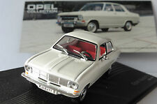 OPEL KADETT B 1965 1973 WHITE IXO COLLECTION ALTAYA 1/43 WEISS BLANCHE BIANCA