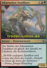 2x Inkarnation Zendikars (Zendikar Incarnate) Magic Origins Magic