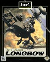AH-64D Longbow - PC CD Computer game Jane's Combat Simulations - DISCS ONLY