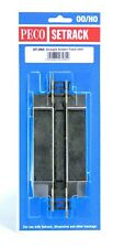 PECO HO Scale Setrack Section - Straight Add-on Road Cossing