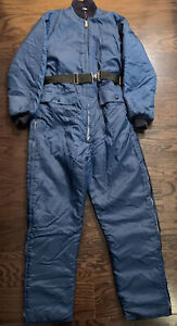 Vintage Snow Shield By Samco Snow Snowmobile Suit Ski Suit Made USA Mens Small