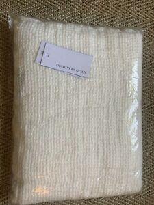 Designer Guild Moselle Bath Sheet White