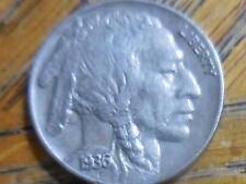 AU 1936-P Buffalo nickel (b)
