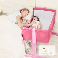 NEW baby crib portable Bedside Sleeping Crib Baby Cot bed Dream Swing Function