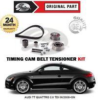 FOR AUDI TT QUATTRO 2.0 TDI CFGB ENGINE 2008 >GATES TIMING CAM TENSION BELT KIT