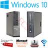 Dell Optiplex SFF Core i3 i5 i7 16GB RAM 2TB HDD SSD Windows 10 Desktop PC WiFi